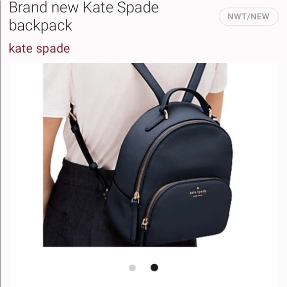 New Kate Spade back pack